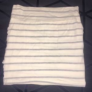 Charlotte Russe Skirts - Striped Mini Skirt